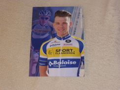 Kenneth Van Rooy - Sport Vlaanderen Baloise - 2017 - Cyclisme