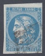 FRANCE 1870 BORDEAUX 20c Nº 46B - 1870 Emission De Bordeaux