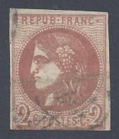 FRANCE 1870 BORDEAUX 2c Nº 40B - 1870 Emission De Bordeaux