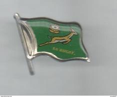 PINS PIN'S RUGBY AFS  AFRIQUE DU SUD SOSOL SPRINKBOK DRAPEAU - Rugby