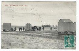 TROUVILLE (14) - La Plage - Trouville