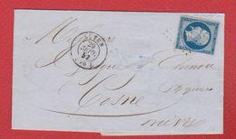 Facture   De Autun   --  Pour Cosne -- 29 Sept 1857 - 1849-1876: Classic Period