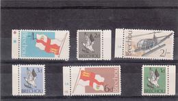 Guernsey Breqchou Brechou, Set Of 6 - 1969 First Issue - Unmounted Mint NHM - Guernsey