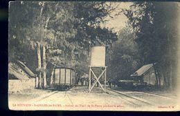 RA586 LA REUNION - ST GILLES LES BAINS - ARRIVEE DU TRAIN DE ST PIERRE PENDANT LA SAISON( RETRO INDIVISO) - Réunion