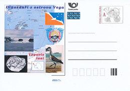 Tschech. Rep. / Ganzsachen (Pre2011/59) Dinosaurier Von Der Insel Vega (4) Vegavis Iaai - Briefe