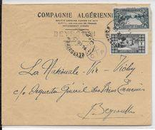LIBAN - 1942 - ENVELOPPE Avec CENSURE De BEYROUTH  => BEYROUTH - Liban