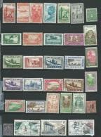 Lot De 32 Timbres Diverses Ex Colonies Françaises Tout état  - Aab158 - France (former Colonies & Protectorates)