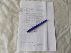 Copie D'un Etat Descriptif De Matériel Du Cirque Pinder Par Spiessert En 1932 PA72709 - Old Paper