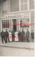 COMMERCE // CARTE PHOTO / Cafe Restaurant PENANCIER / ANIMEE - Restaurantes