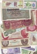 Lot Intéressant De Plus De 50 Billets étrangers Usagés - Nombreux En Parfait état - Coins & Banknotes