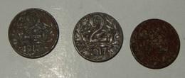 AUSTRIA – 2 HELLER – 1917 – 3 MONETE – (136) - Austria