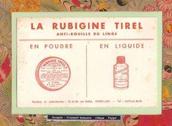BUVARD /  La RUBIGINE TIREL   Anti- Rouille Du Linge - Wash & Clean