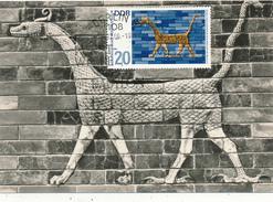 BERLIN  - 1966 ,  Ischtar-Tor  - Maximumkarte - DDR