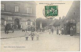 Cléré - Route De St-Symphorien - Cléré-les-Pins