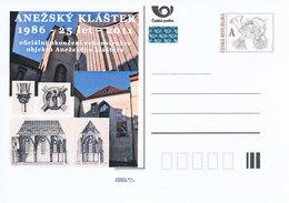 Tschech. Rep. / Ganzsachen (Pre2011/61) St. Agneskloster In Prag; Königliche Begräbnisstätte (1261-2011) - Klöster