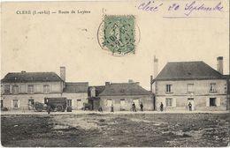 Cléré - Route De Luynes - Cléré-les-Pins