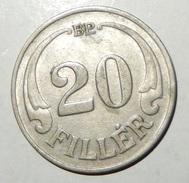 UNGHERIA – 20 FILLER – 1926 – (190) - Ungheria