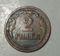 UNGHERIA – 2 FILLER – 1927 – (191) - Ungheria