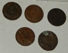 UNGHERIA – 2 FILLER – 5 MONETE  - 1895 – 1896 - 1902- (188) - Ungheria