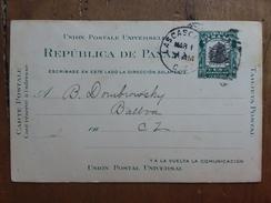 PANAMA - Cartolina Postale Spedita Nel 1913 + Spese Postali - Panama