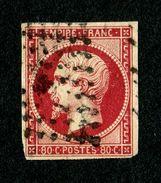 Superbe Napoléon III N° 17Al Ou 17Ac ? Oblitéré - TBE - Pas De Pli - Pas D'aminci - Cote Mini 150,00 € - 1853-1860 Napoleon III