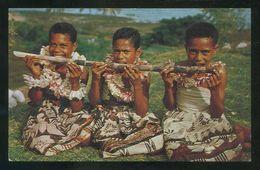 Islas Fiji. *A Sugar Cane Meal* Ed. M. Roberts Nº C-16696. Nueva. - Fidji