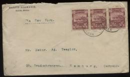 S1489 Mexiko, Briefumschlag: Gebraucht Saltillo - Hamburg 1899, Bedarfserhaltung , Gefaltet. - Mexico