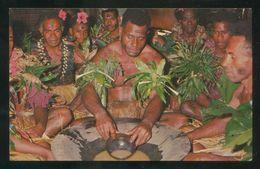 Islas Fiji. Suva. *Yagona Ceremony...* Ed. M. Roberts Nº C-16702. Nueva. - Fidji
