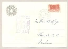 Nederland - 1952 - 6 Cent Itep Zegel Op Itep-kaart FDC Naar Arnhem - FDC