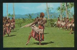 Islas Fiji. *Spear Dance* Ed. Stinsons Ltd. Nº 1065. Nueva. - Fiji