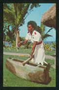 Islas Fiji. *Tevita Beats The Lali...* Ed. Stinsons Ltd. Nº 1124. Nueva. - Fiji