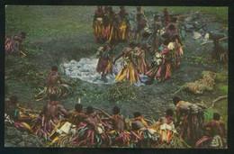 Islas Fiji. *Fijian Firewalking* Ed. Stinsons Ltd. Nº 1019. Nueva. - Fiji