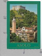 CARTOLINA NV ITALIA - ASOLO (TV) - Panorama E Castello - 10 X 15 - Treviso