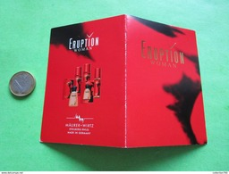 MAURER + WIRTZ - Carte Parfumée - Perfume Cards