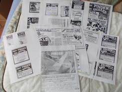 Copie De Lots De Documents Sur Le Cirque Pinder - Old Paper