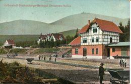 Halberstadt - Blankenburger Bahnhof, Dreiannen Hohne (003065) - Halberstadt