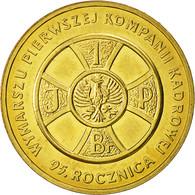 Monnaie, Pologne, 2 Zlote, 2009, Warsaw, SUP+, Laiton, KM:690 - Pologne