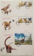 China 2017-11 CHINESE DINOSAUR FDC - Prehistorics