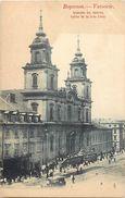 Pays Div-ref K490- Pologne - Poland - Varsovie - Varsovia - Eglise De La Ste Croix  - Carte Bon Etat  - - Pologne