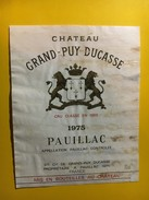 6441 - Château Grand-Puy-Ducasse 1975 Pauillac - Bordeaux