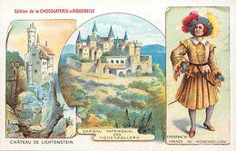 Pays Div-ref K487- Illustrateurs -dessin Illustrateur - Chateau De Lichtenstein -edition De La Chocolaterie D Aiguebelle - Liechtenstein