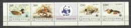 Yugoslavia 1989 Mi 2328-2331 MNH DUCKS WWF - W.W.F.