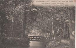 MONTIGNY SUR AVRE ALLEE DES DAMES SOUS BOIS DU CHATEAU SUR L AVRE - Montigny-sur-Avre