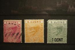 UK Malaisie Sungei Ujong N°11, 12 Et 14 - Autres