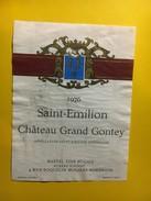 6447 - Château Grand Gontey 1976 Saint Emilion - Bordeaux