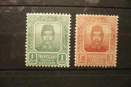 UK Malaisie Trengganu  N°1/2 Neufs * - Trengganu