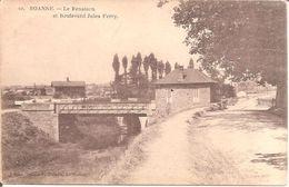 ROANNE (42) Le Renaison Et Boulevard Jules Ferry (Carte Pas Très Courante) - Roanne