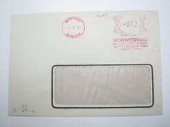 1940 , Wuppertal    , Klarer Firmen - Freistempel  Auf  Brief, Verkürzt - Briefe U. Dokumente