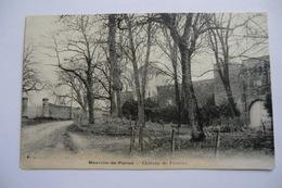 CPA 86 VIENNE NEUVILLE EN POITOU. Château De Furigny. - Neuville En Poitou