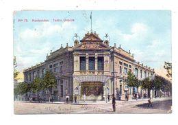 URUGUAY - MONTEVIDEO, Teatro Urquiza, 1907 - Uruguay